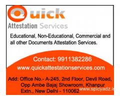Embassy Attestation services, Uae embassy Attestation, india
