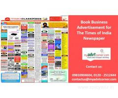 The Times of India Business Advertisement