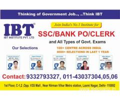 IBT Delhi is the best Bank coaching institute in Delhi