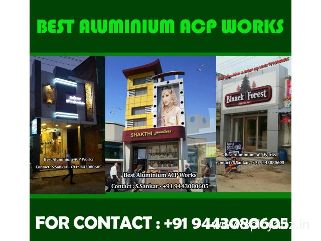 Best  Aluminium Acp Works – 9443080605 Acp Structural Gazing in Tirunelveli - 1
