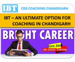 IBT – An ideal hub for CDS Coaching in Chandigarh