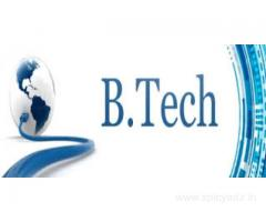B.Tech admission is best way of education.