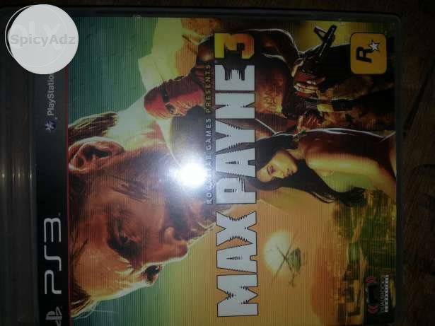 Ps3 Max payne game