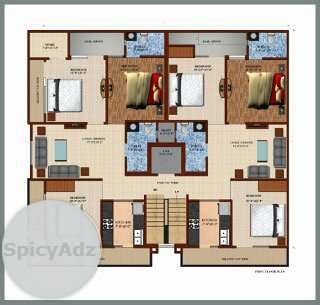 3bhk Flat Available In Laxman Vihar in Gurgaon
