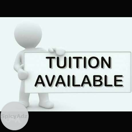 For tutions for 3-12th student(individual home tutions) in Saha