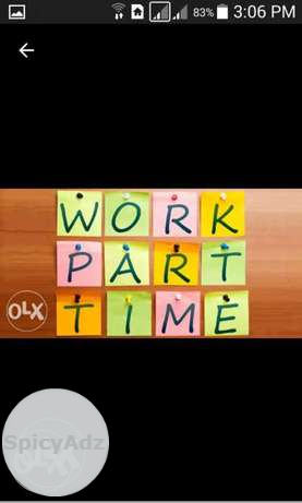 I Am Offering A Job Work from Home . Do with your in Nilokheri