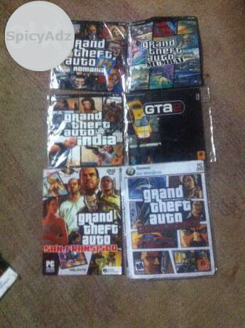 My gta game in sell