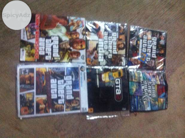 My gta games sell