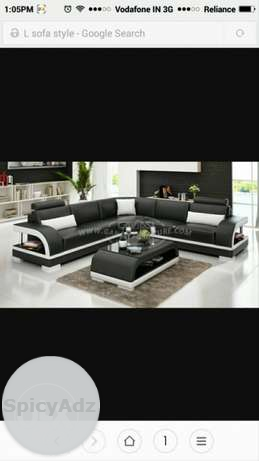 L new sofa manufacturers price good quality, in Delhi